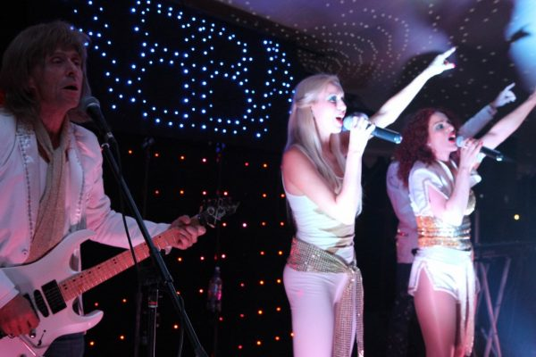 Abba tribute band available to hire for weddings, parties and events