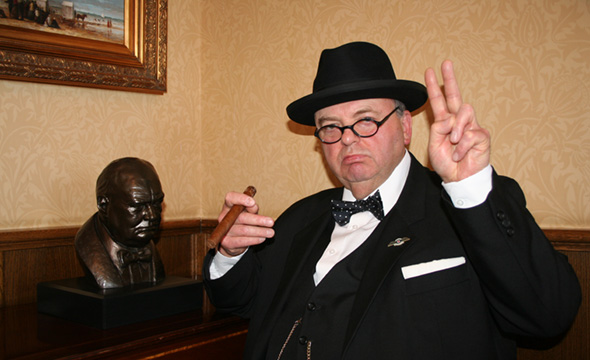 Churchill Impressionist for weddings, events and parties