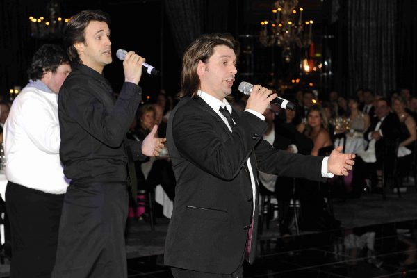 Singing Waiters from the West End, available to hire for parties, events and weddings