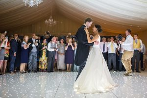 Hire a white dancefloor for weddings, corporate events or parties
