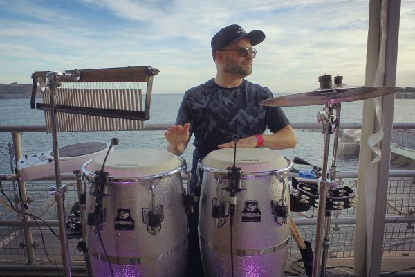Percussionist available to hire for corporate events, private parties and weddings