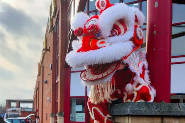 Lion dancers available to hire for weddings, events and parties